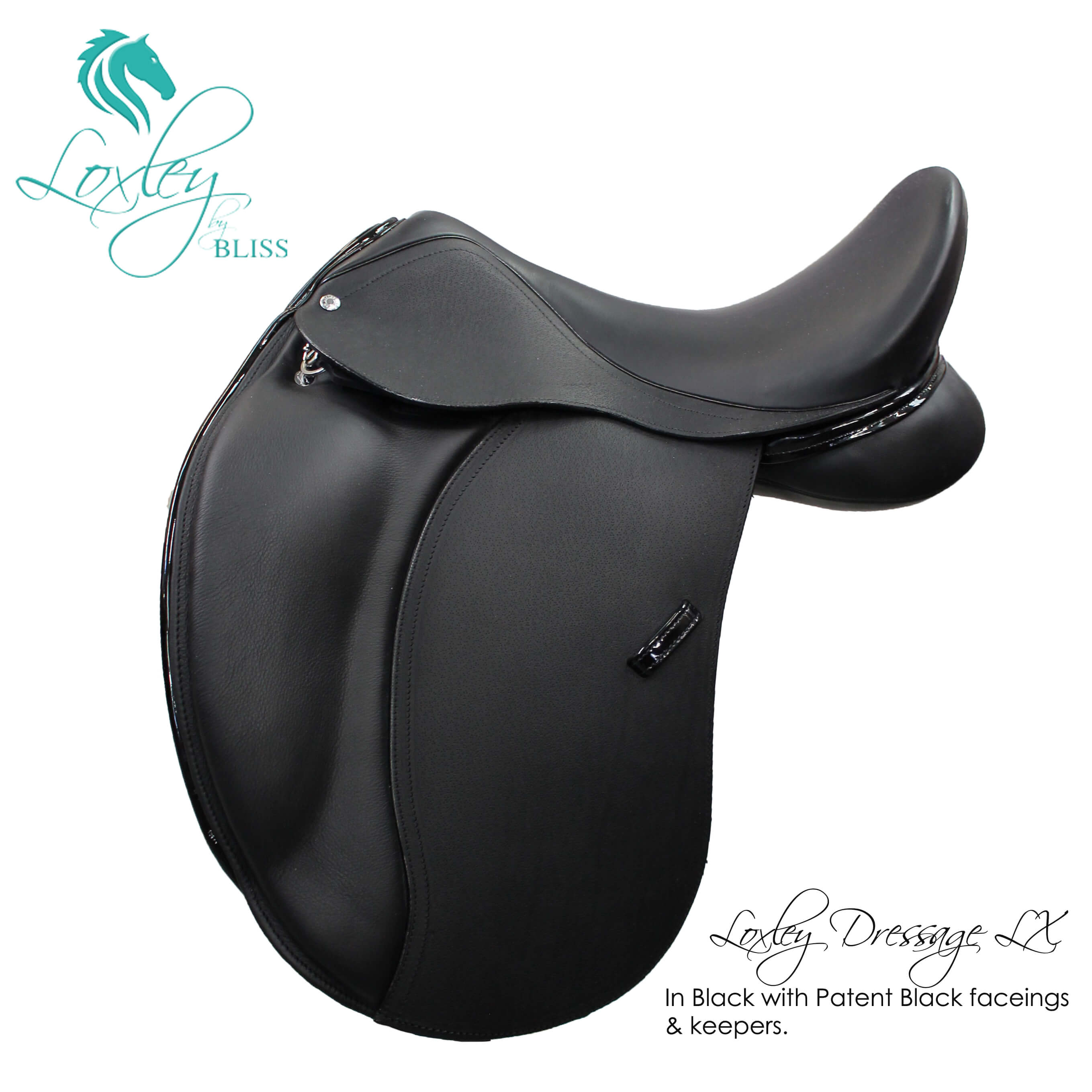3 Loxley Dressage Lx 19056 - Dressage LX Black Patent