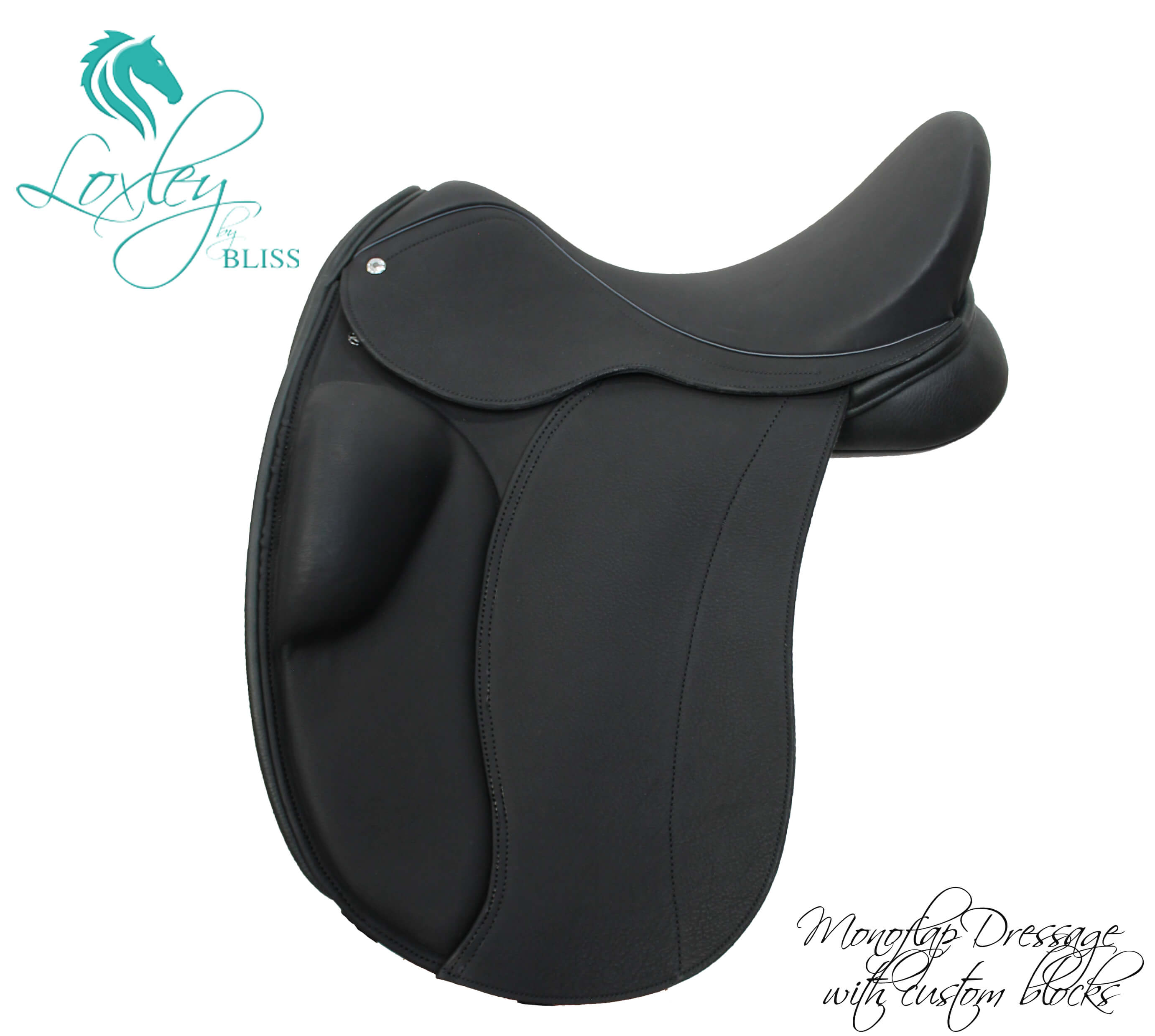 12 Loxley dressage monoflap - custom small block