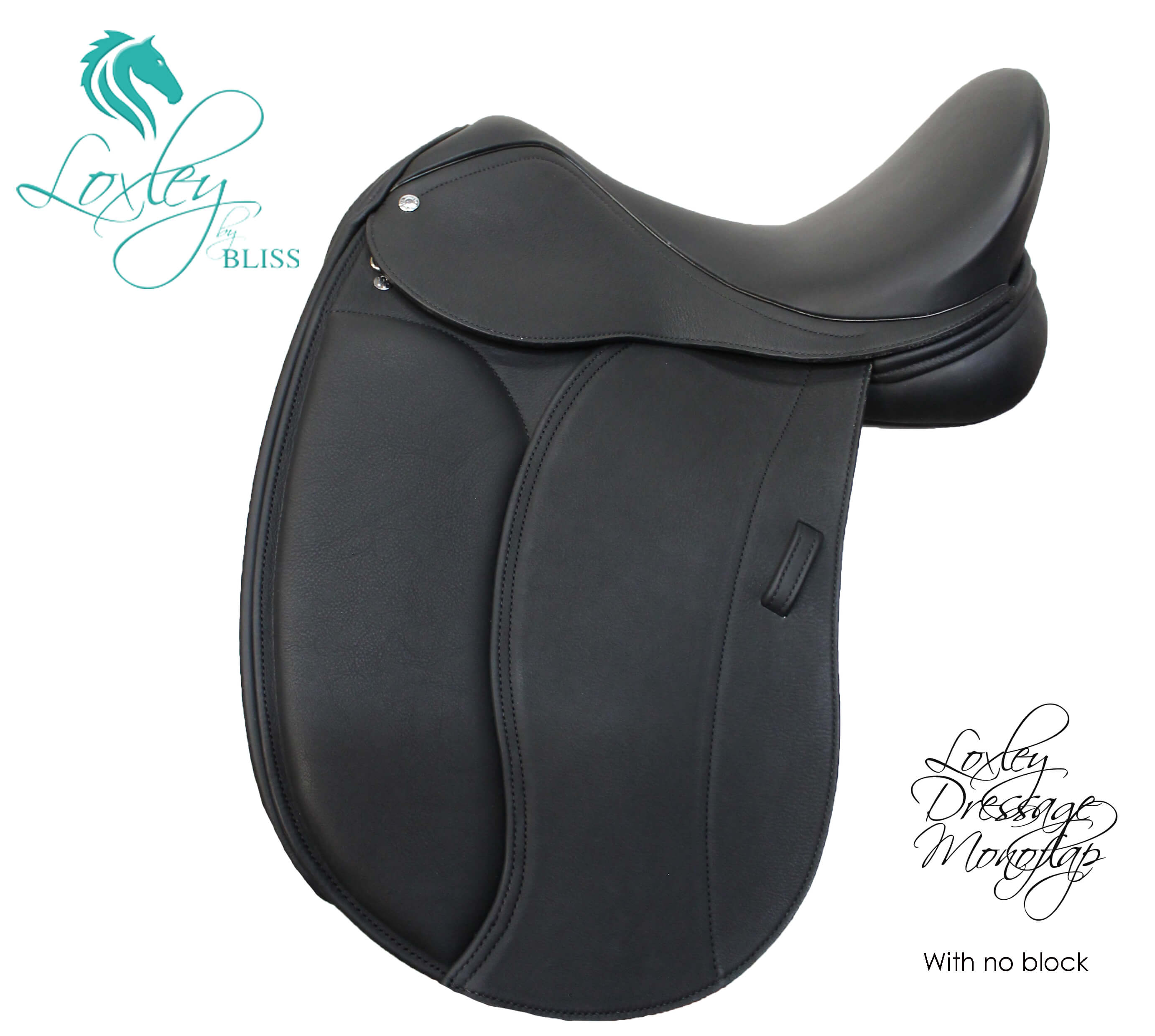 15 loxley dressage mono flap no block
