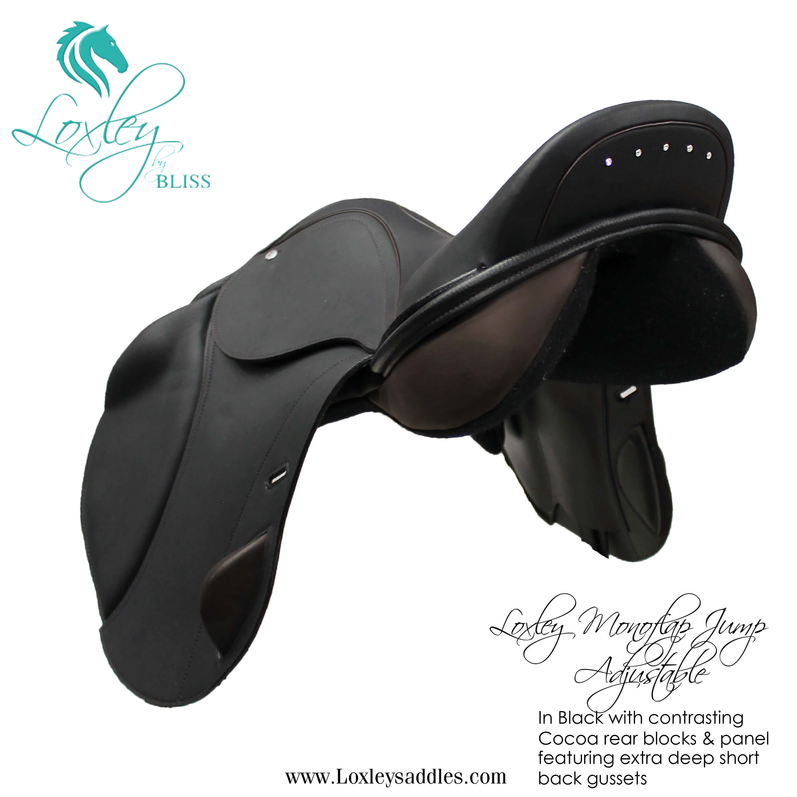 1a 027 - Loxley Jump Monoflap Black & cocoa Side34