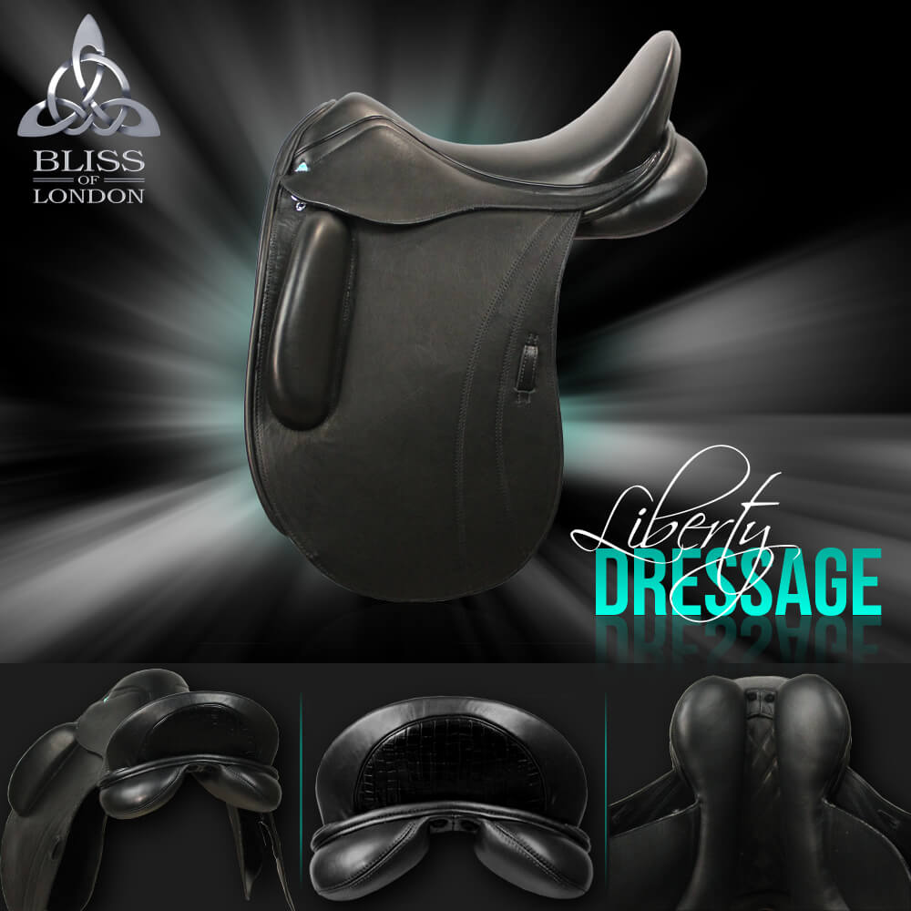 2 Bliss Liberty Dresage Saddle short block