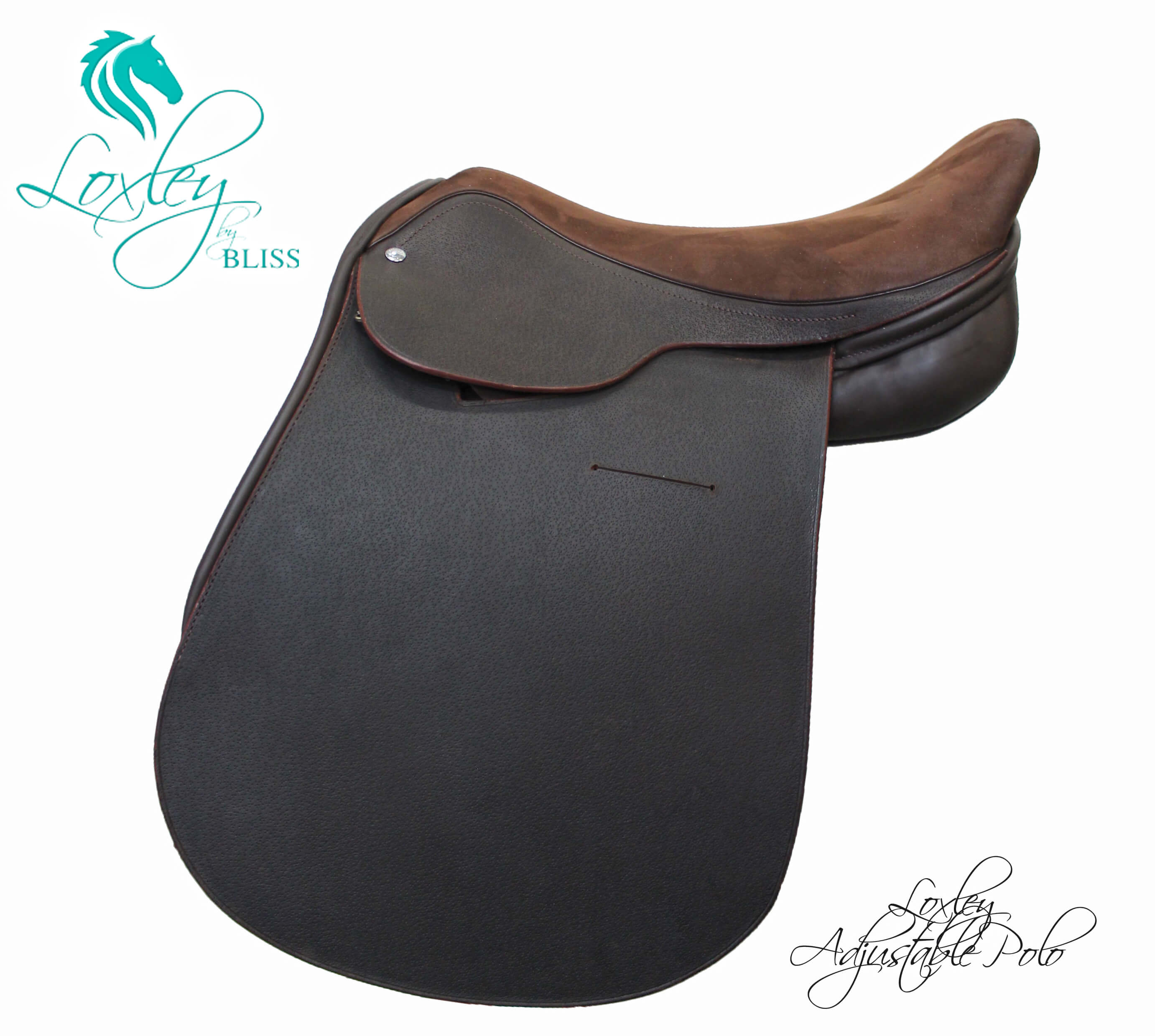 3 584 - nubuck polo Loxley Saddle Image Template