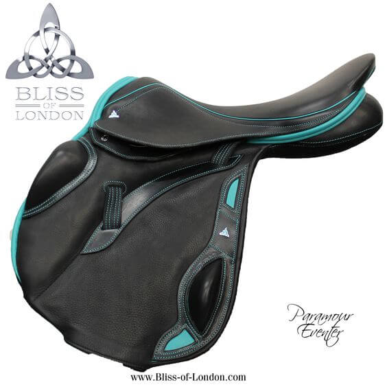 3 BLiss Paramour Eventer Black & Teal