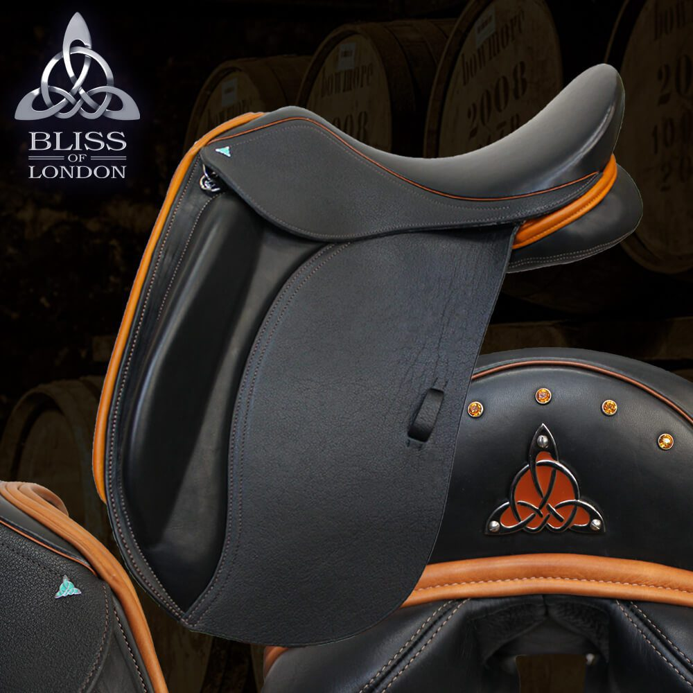 3 Bliss Liberty Dressage saddle tan buffalo