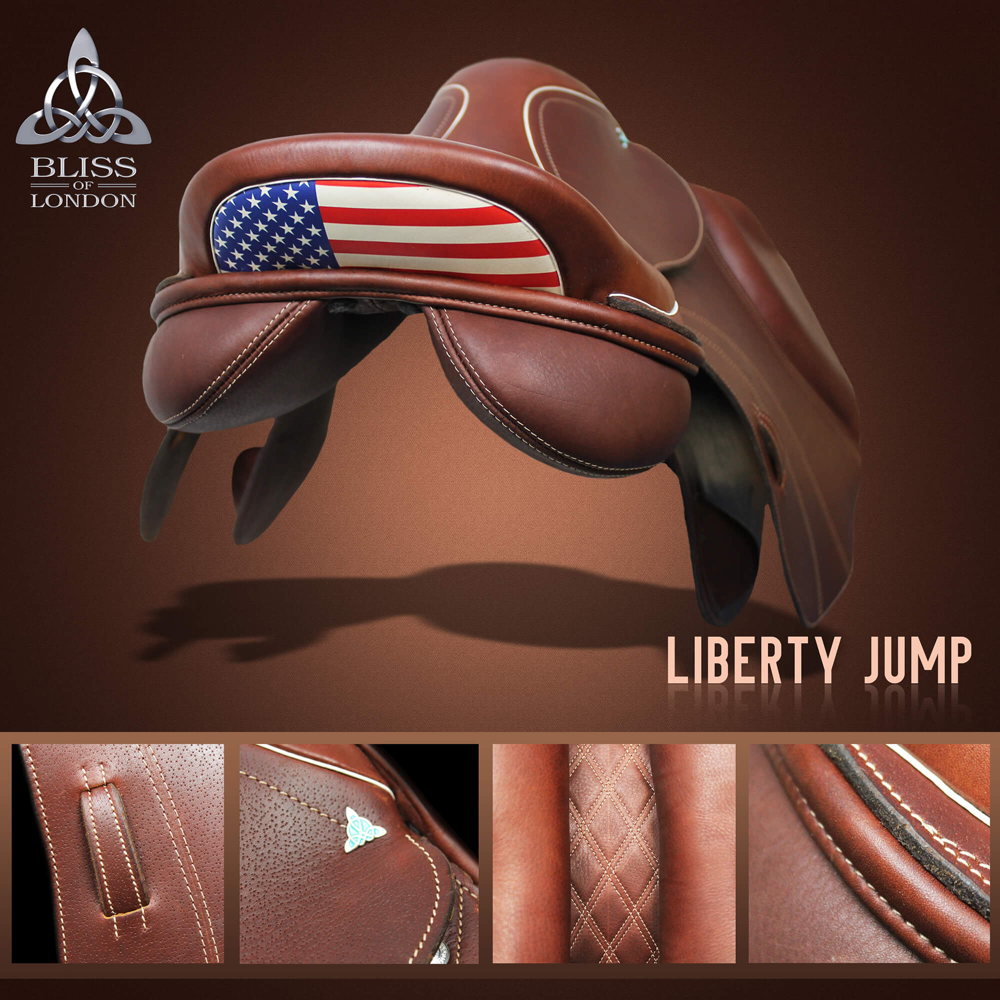 4 Bliss Liberty Jump claret USA