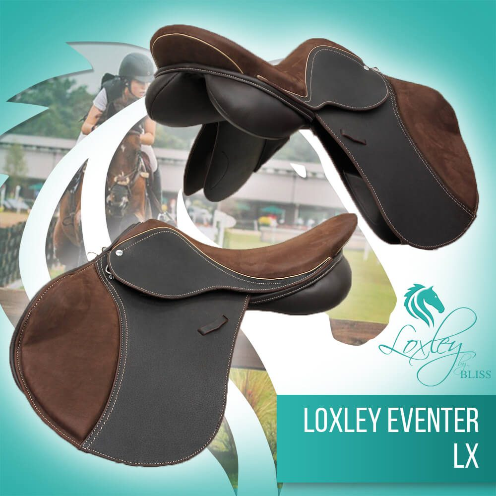 4 Loxley eventer LX cocoa and cream nubuck