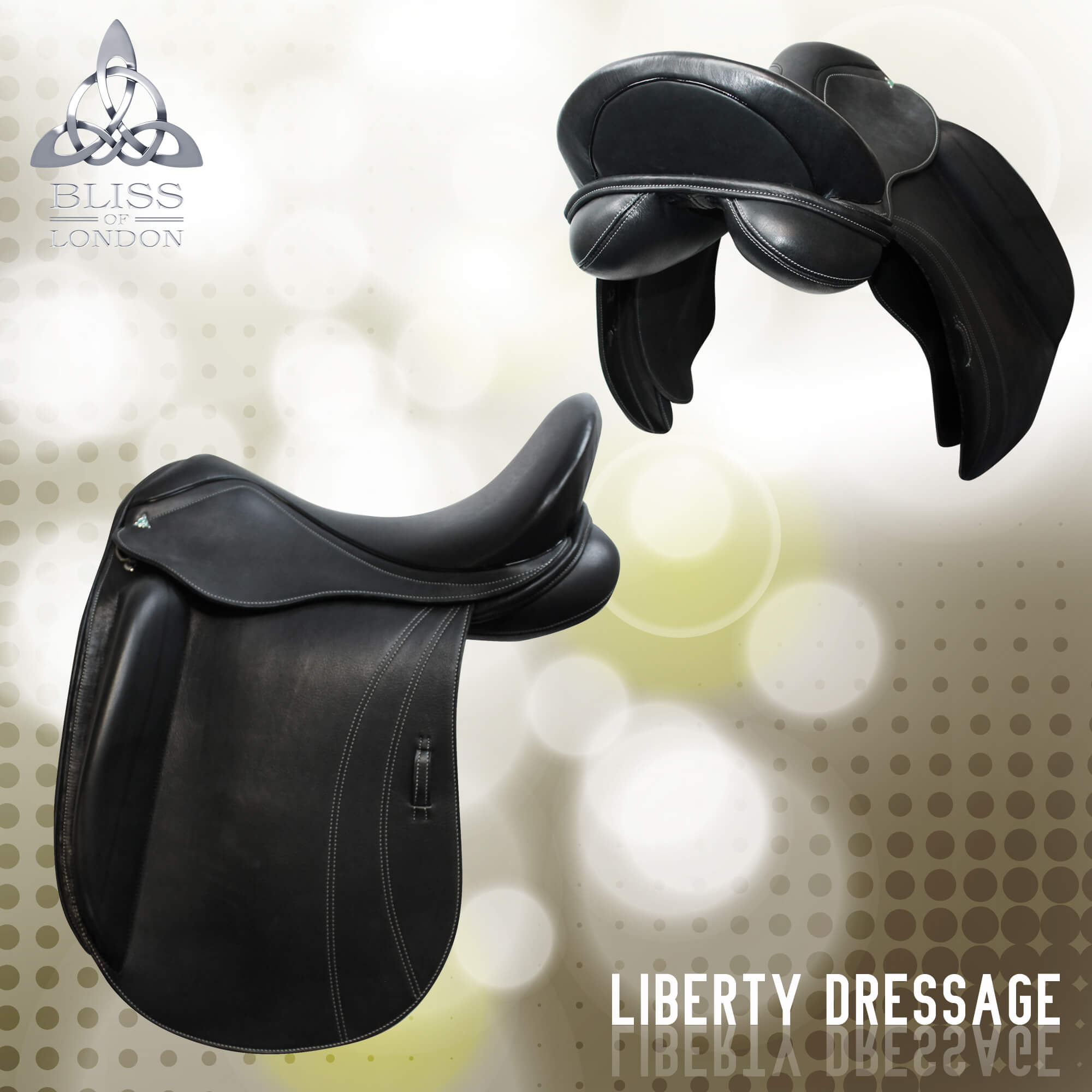 5 Bliss Liberty Dressage Saddle