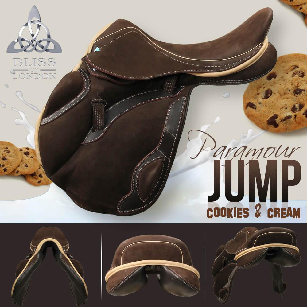 5 Bliss Paramour Jump cocoa cream nubuck