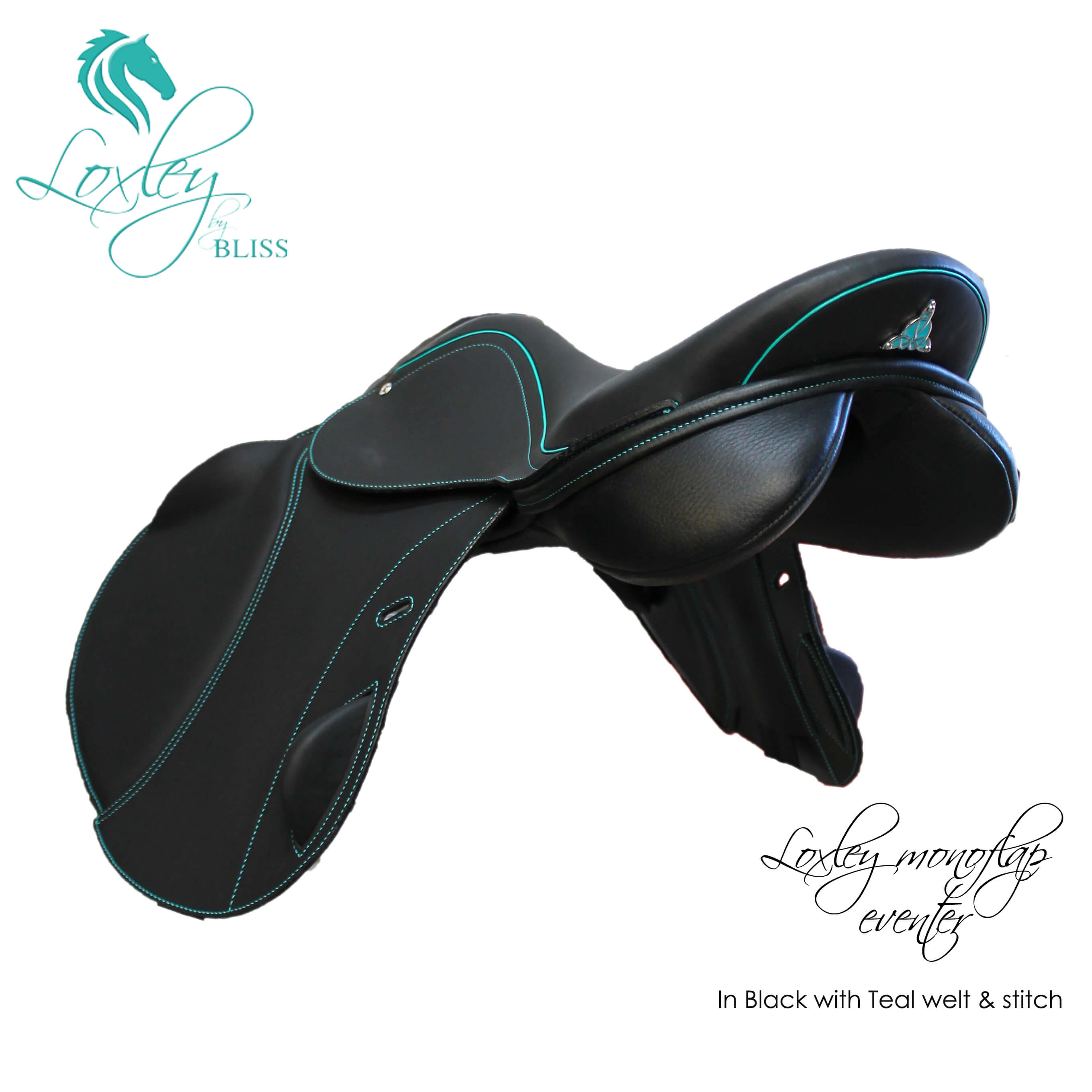 6 Loxley Eventer Mono Black & teal 34