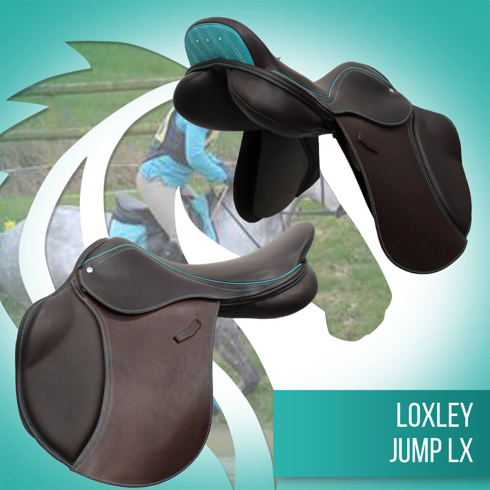Loxley Jump LX cocoa & Teal