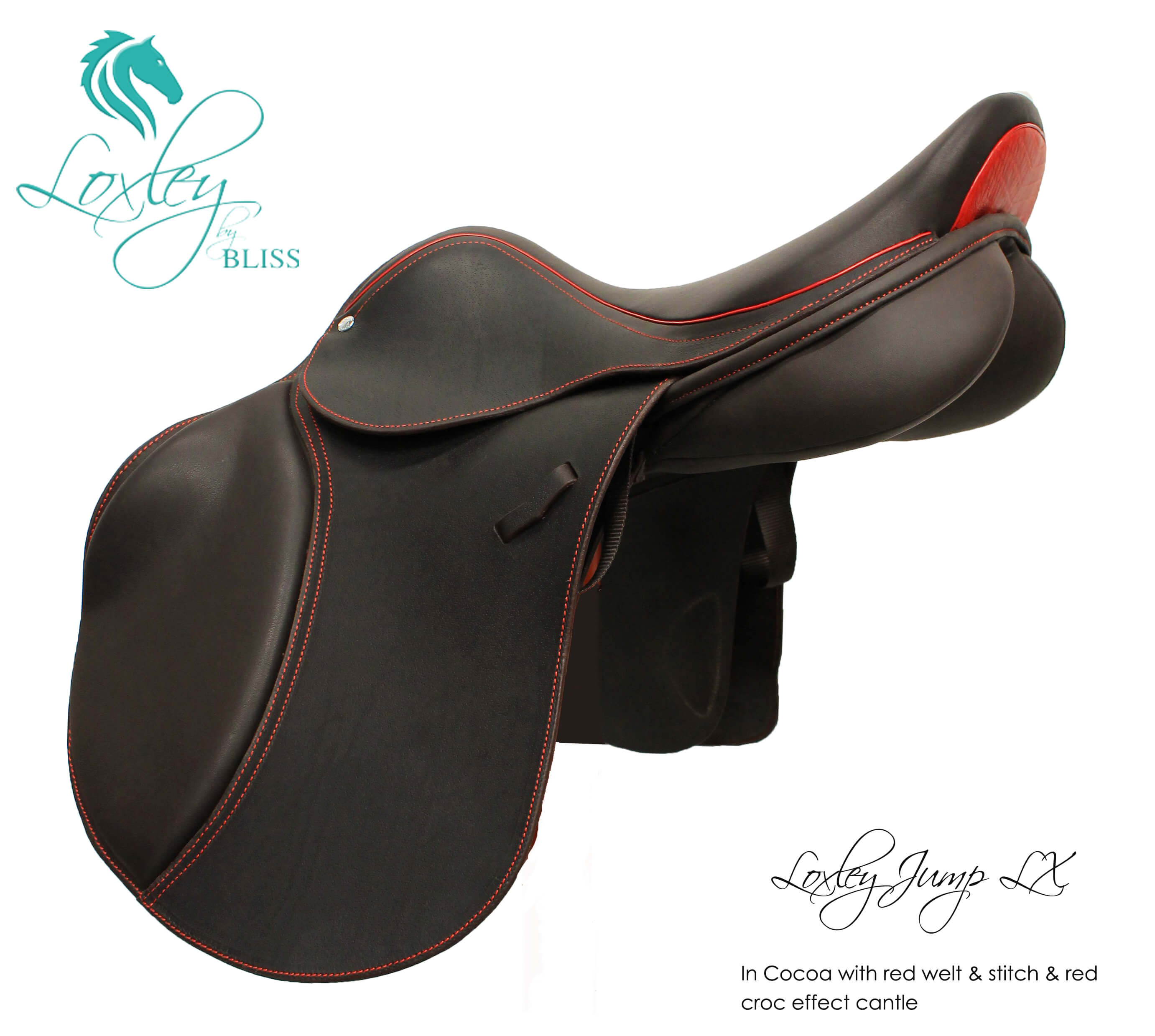 Loxley Jump LX cocoa red croc