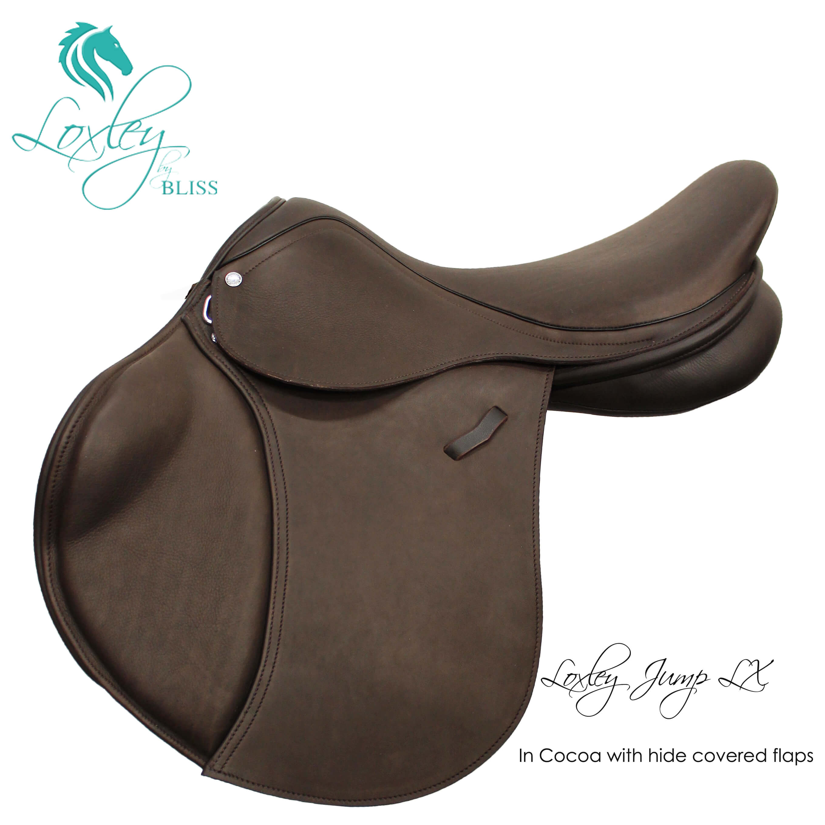 Loxley Jump LX hide covered cocoa