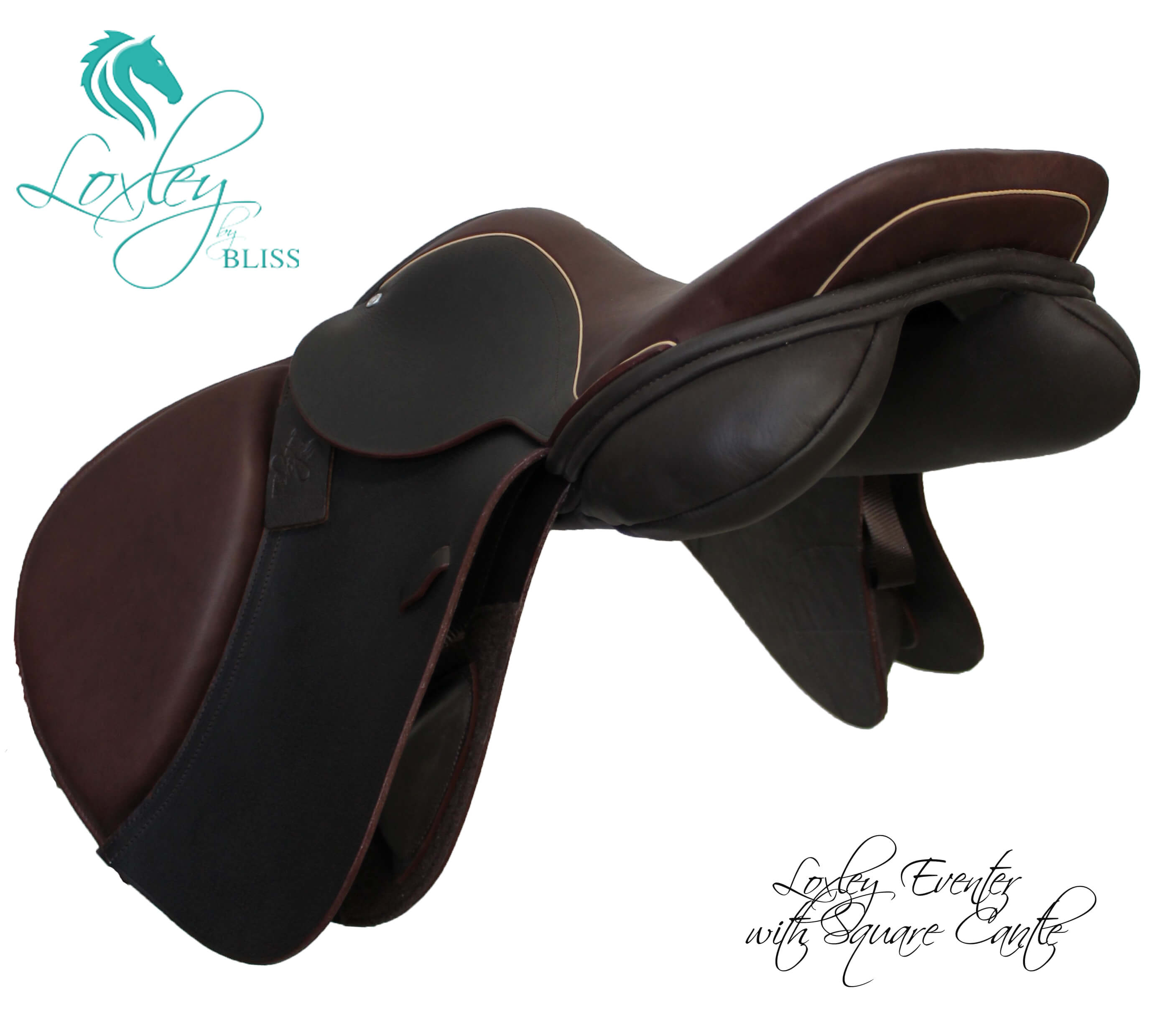 Square cantle eventer Loxley Saddle Image Template