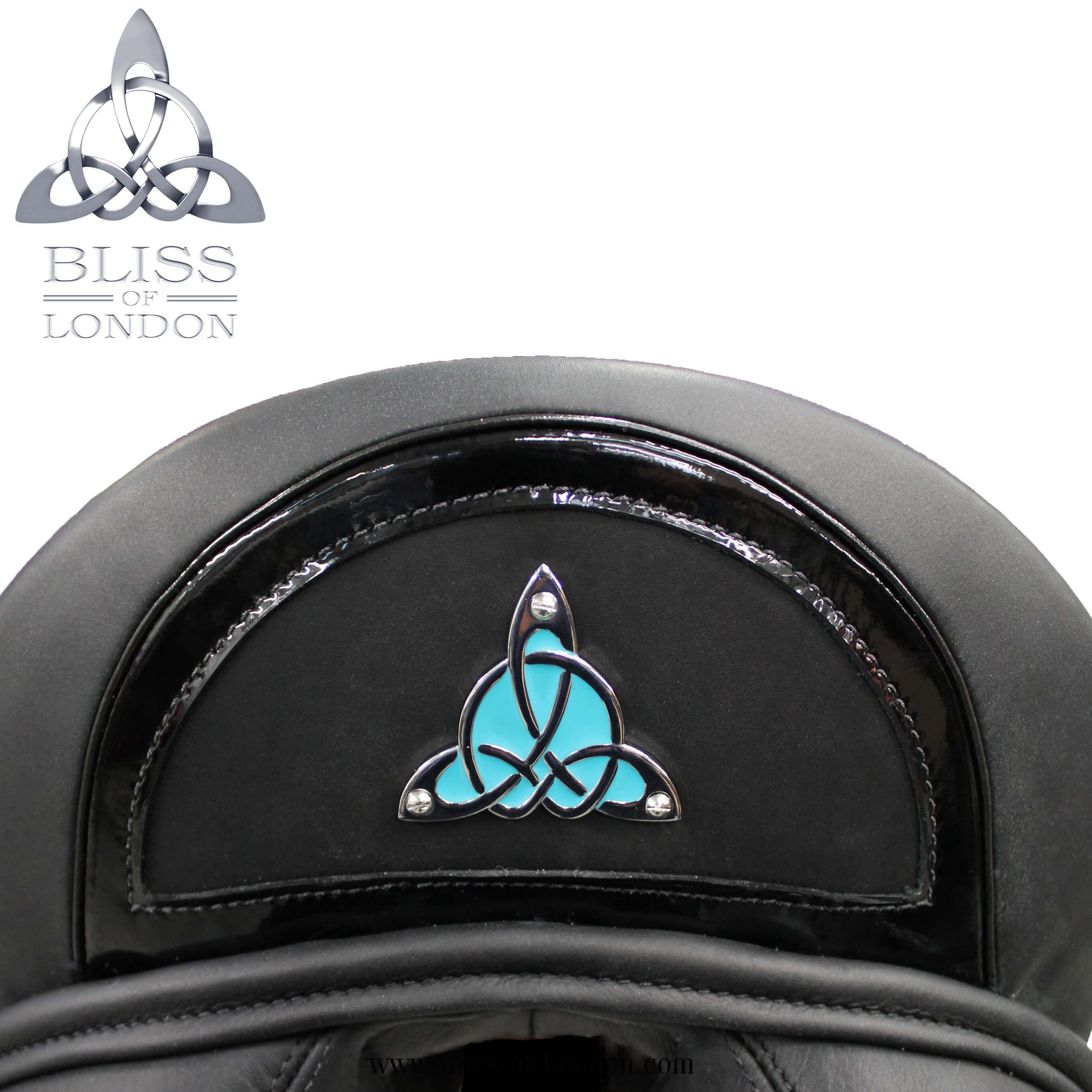 735 - Paramour Dressage Patent Halfmoon Cantle Badge