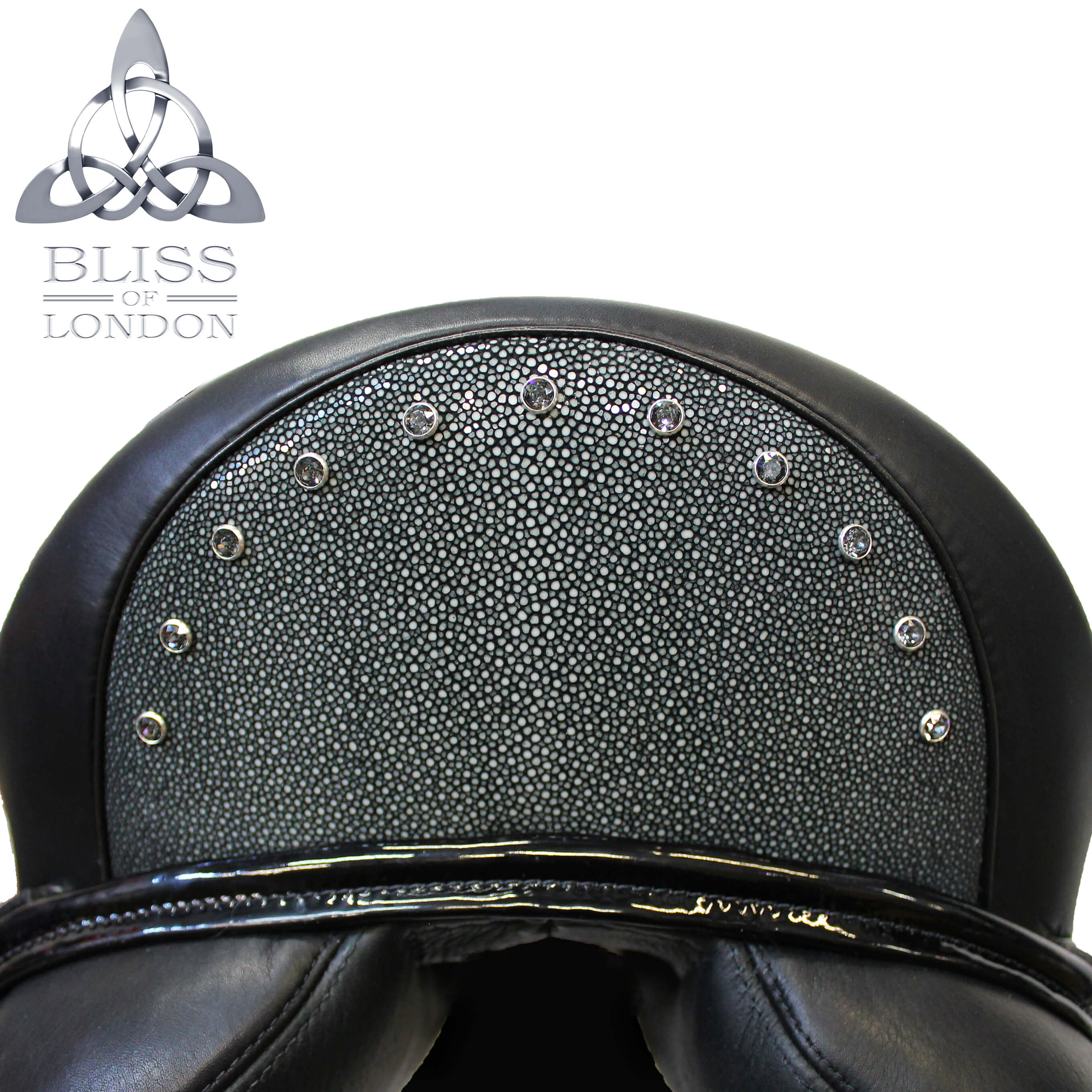 Stingray Swarovski Dressage Cantle