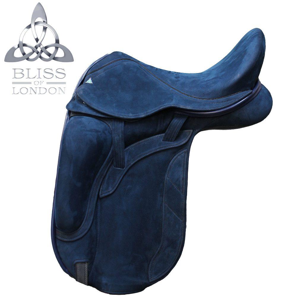 19317 - Bliss Website Paramour Dressage Blue Nubuck Quilt Stitch Diamamte side