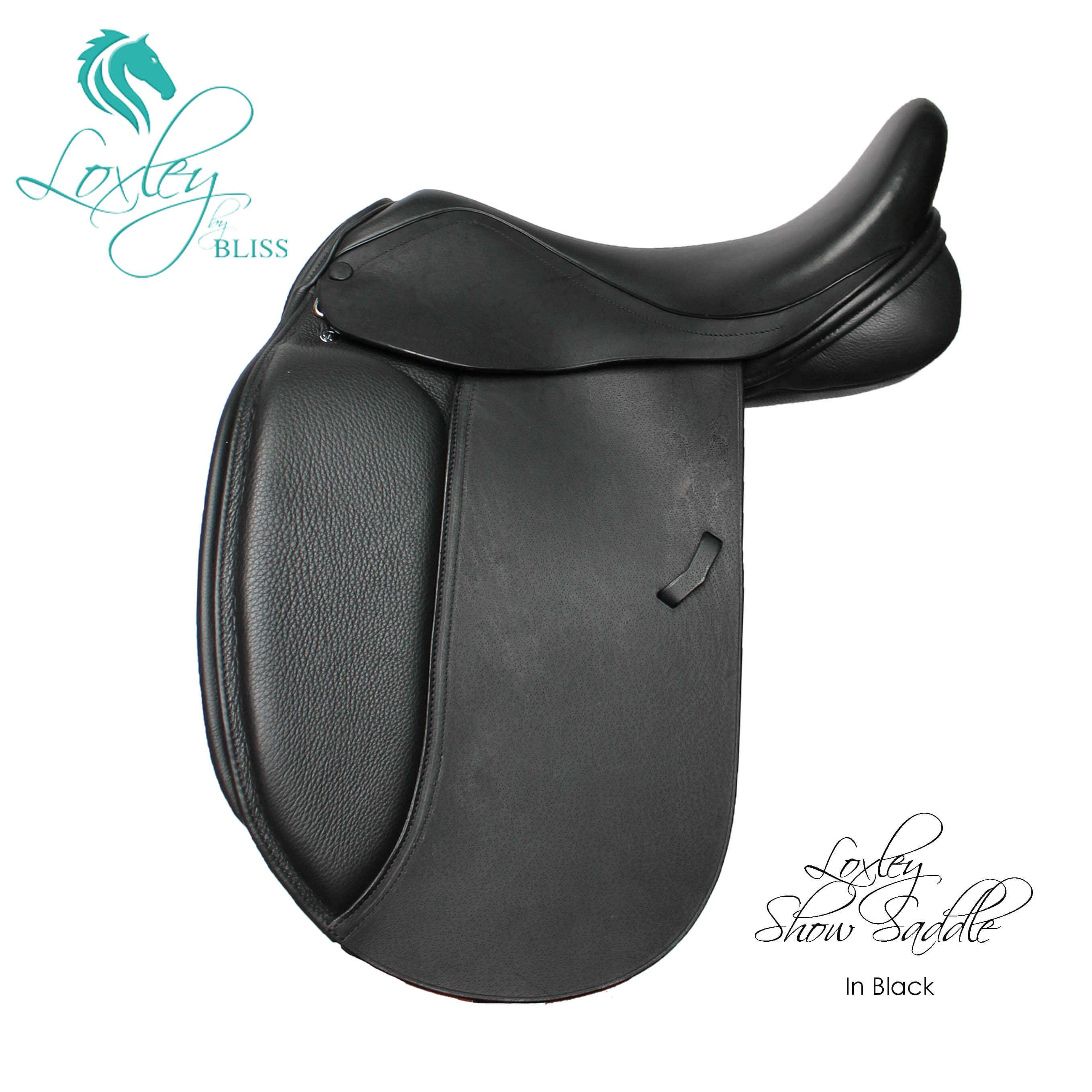 384 - Showsaddle black side