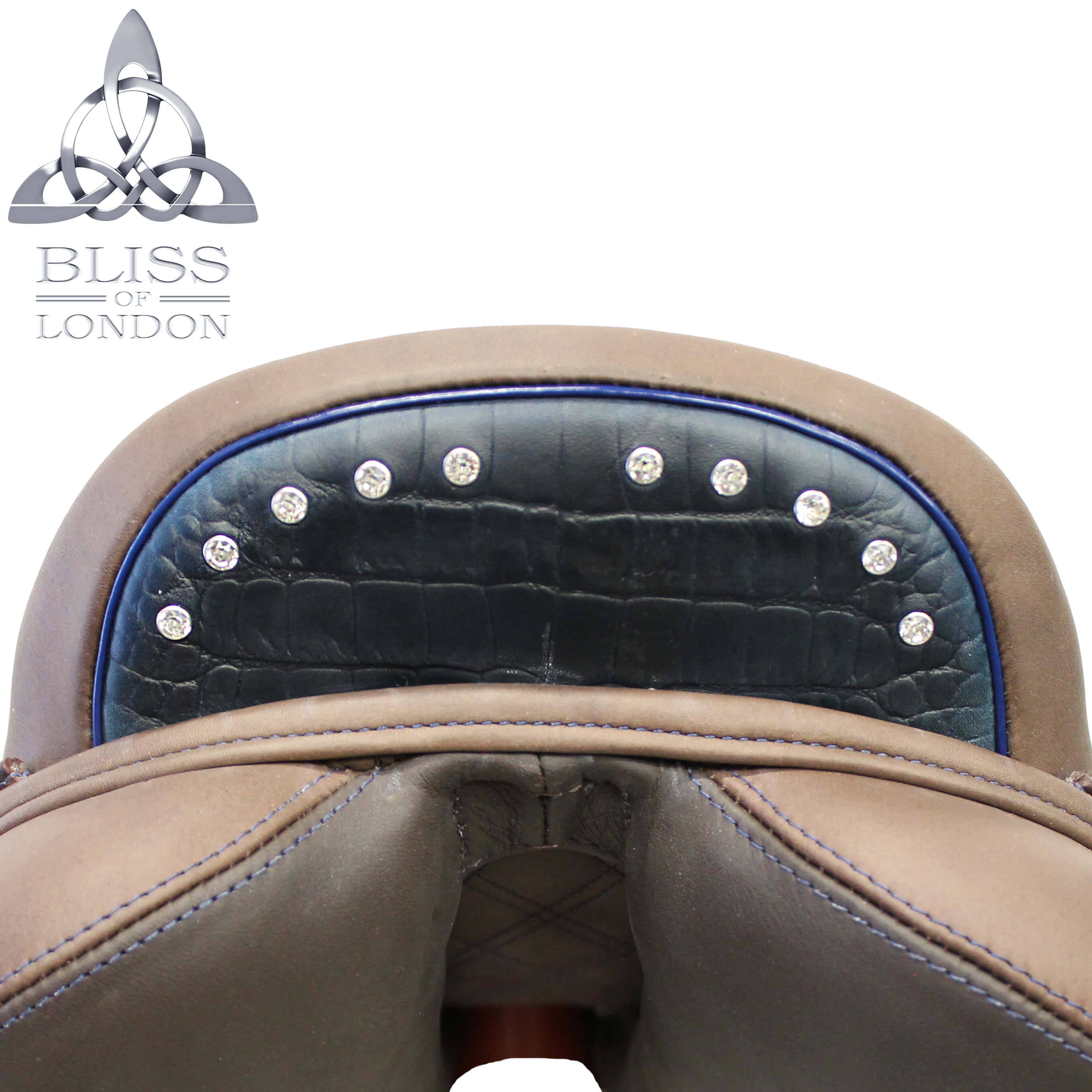 BLISS SADDLE IMAGE TEMPLATE CROC BLUE CANTLE