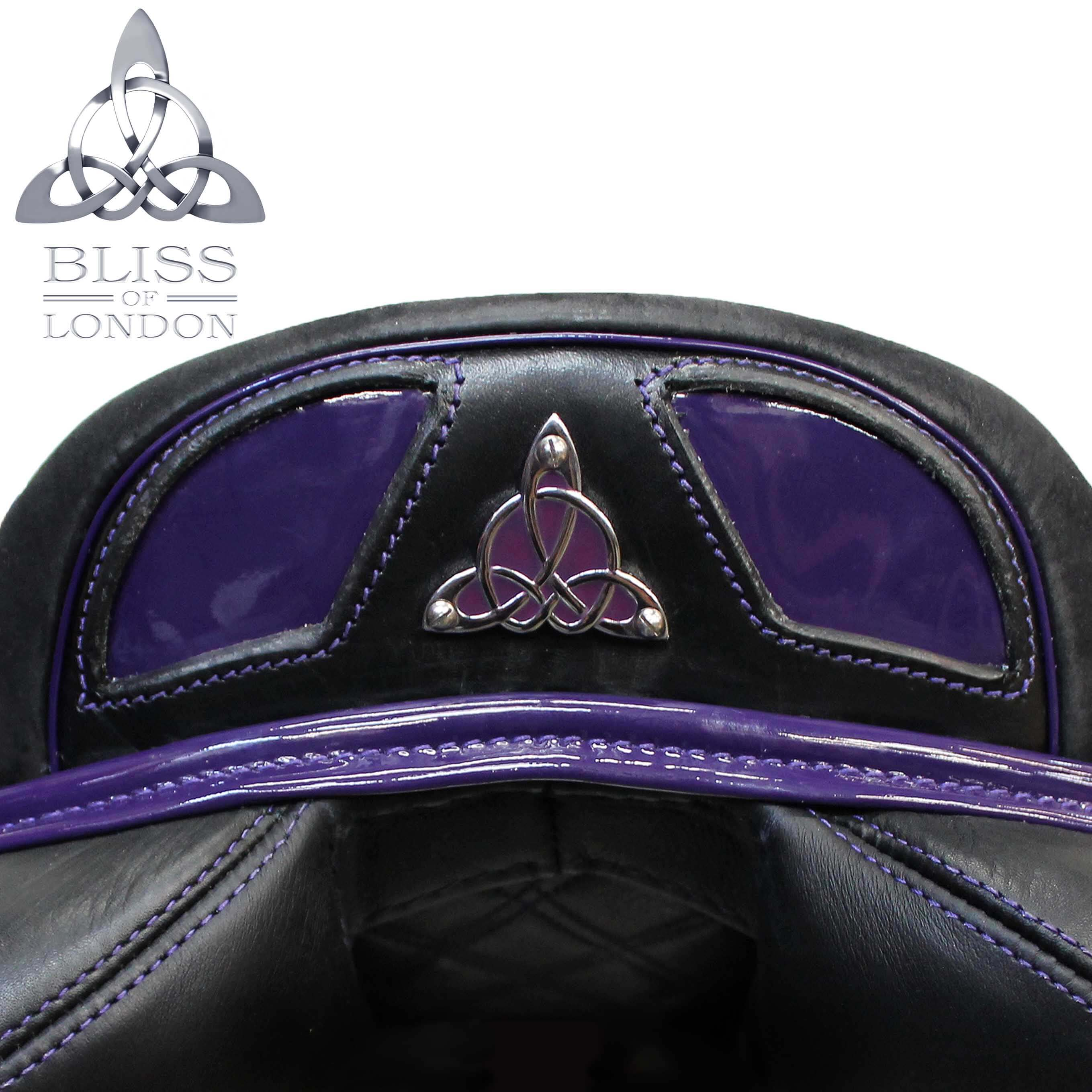 PURPLE SPEED FEATURE CANTLE BADGE SWAROVSKIS