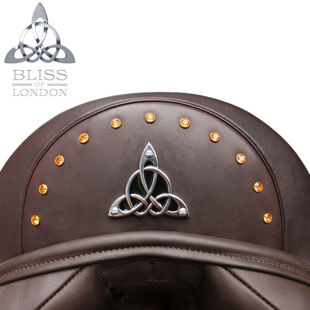 Dr Cantle Brown Swarovski Arch Badge
